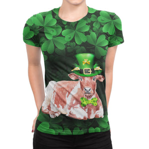St Patricks t-shirt for Cow lovers sk01