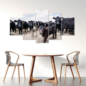 Wall Art 5pcs - Cow Lovers 03