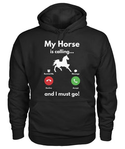 My horse is calling...