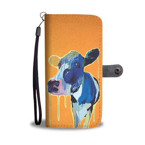 Cow 41 - wallet case phone