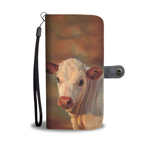 Cow 42 - wallet case phone