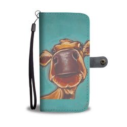 Cow 43 - wallet case phone
