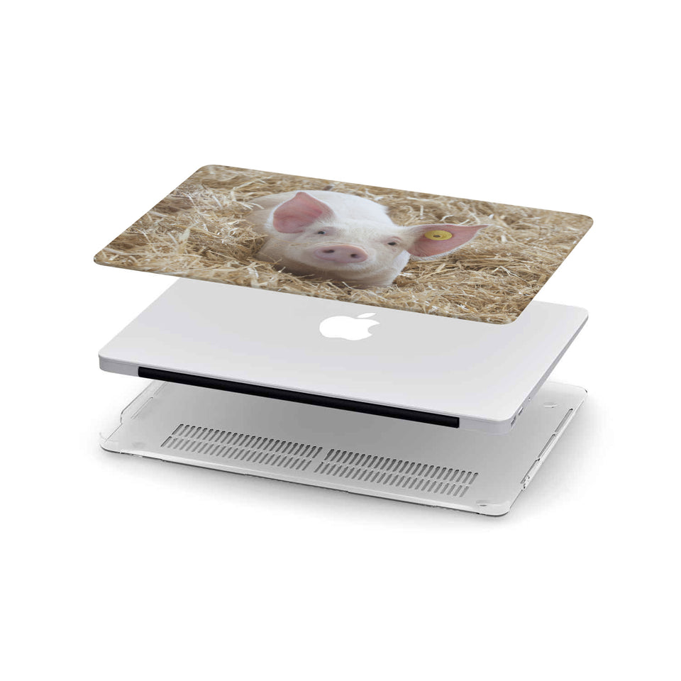 MacBook Case for Pig Lovers 09