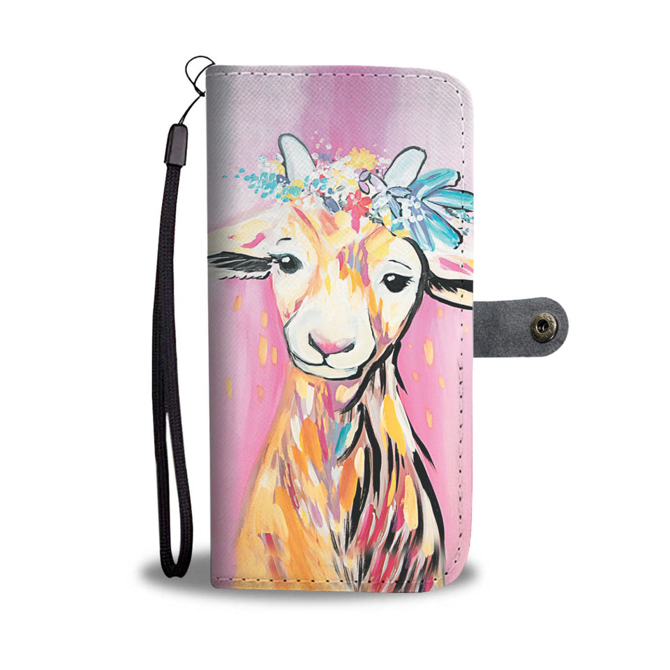 Wallet case phone - goat 15