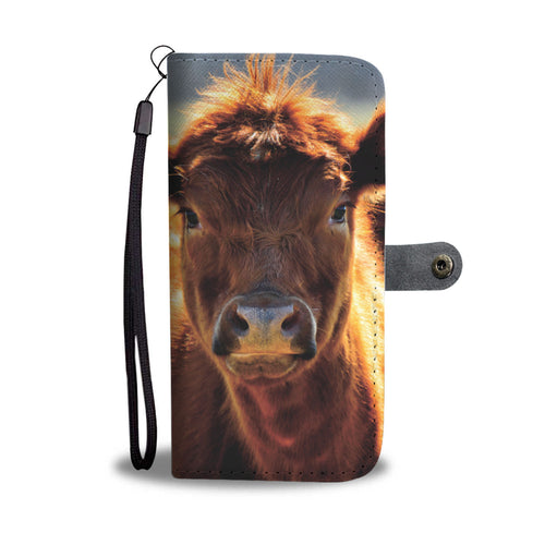 Cow 45 - wallet case phone