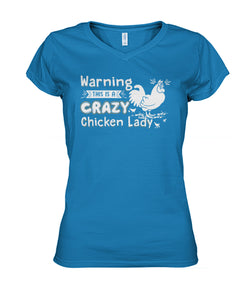 Warning! This is being crazy chicken lady