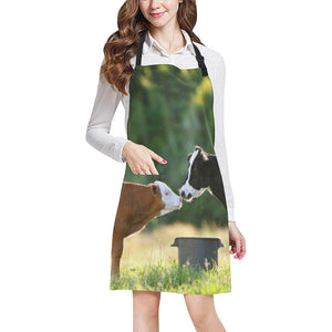 cow All Over Print Apron 05