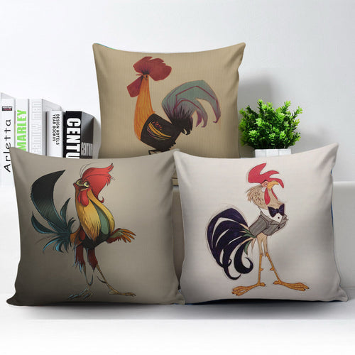 3 Pillow Covers - Chicken Lovers