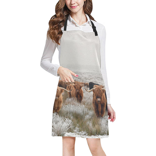 cow All Over Print Apron 11