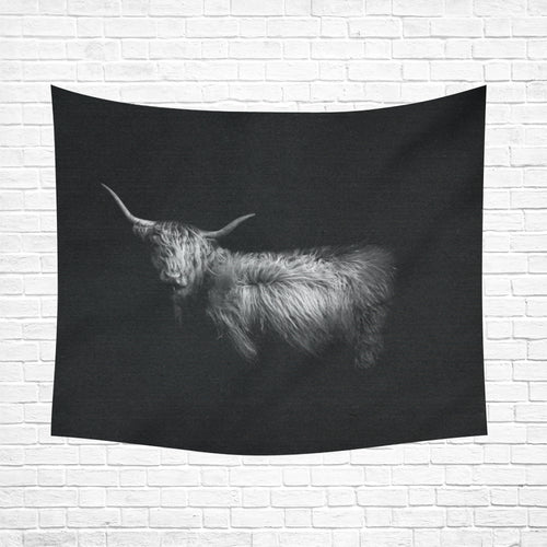 cow 16 Cotton Linen Wall Tapestry 60