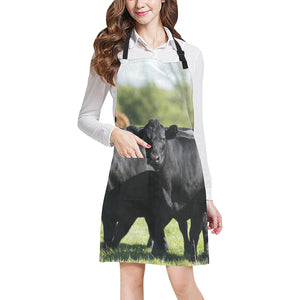 cow All Over Print Apron 10