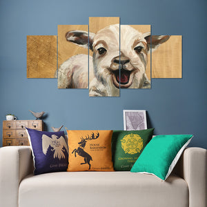 Wall Art 5pcs - Goat Lovers 02