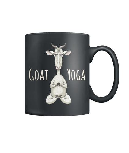 Goat Yoga - Color Coffee Mug