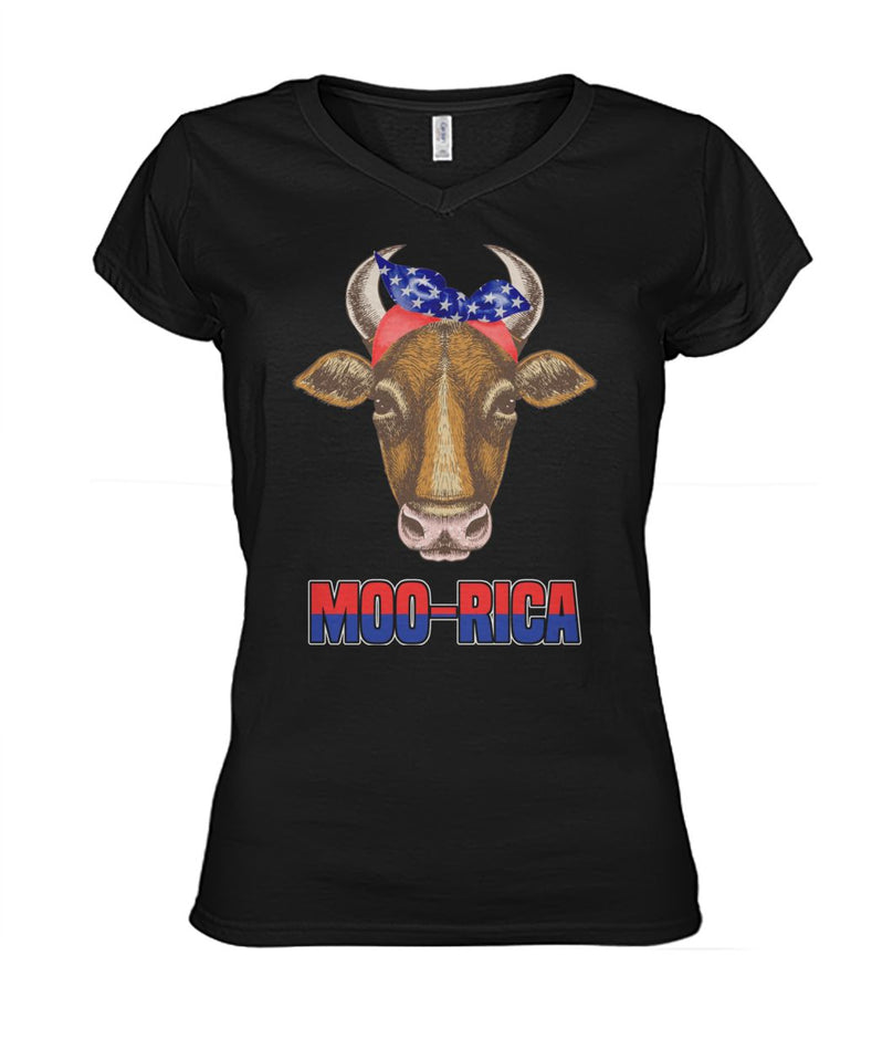 Moo-rica shirts 4th of July America