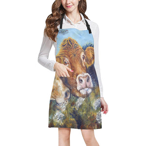 cow All Over Print Apron 19