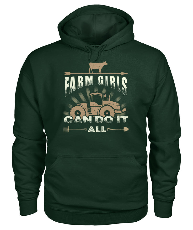 Farm girl can do it all - Barnsmile.com-Barnsmile.com-shirt, tees, clothings, accessories, shoes, home decor