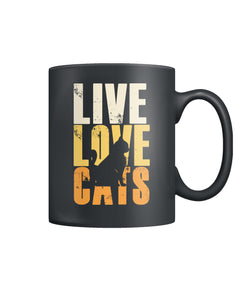 Live. Love. Cats