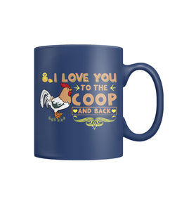 I love you to the coop and back