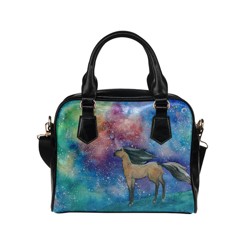 Horse 08 Shoulder Handbag (Model 1634)