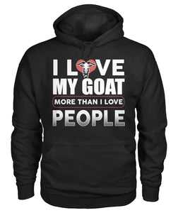 i Love my Goat more than i love people