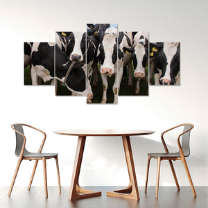 Wall Art 5pcs - Cow Lovers 07