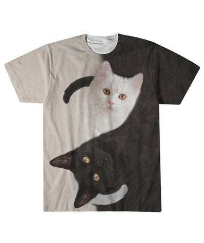 Two cats  Sublimation Tee