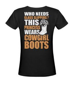 Who needs glass slippers - Barnsmile.com-Barnsmile.com-shirt, tees, clothings, accessories, shoes, home decor