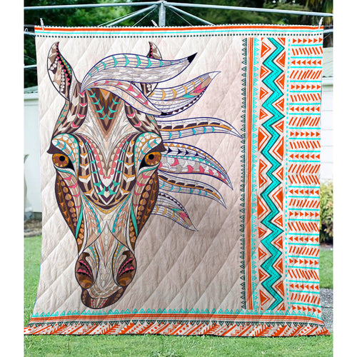 Horse , Quilt for Horse lovers sk02