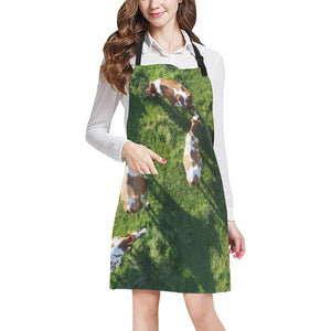 cow All Over Print Apron 06