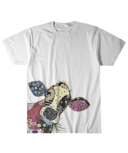 Cow Head Color Sublimation Tee