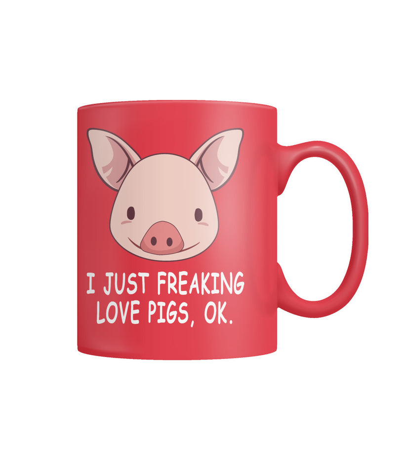 I just freaking love pigs, OK