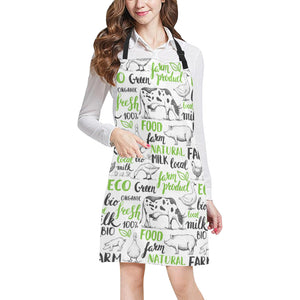 cow All Over Print Apron 28