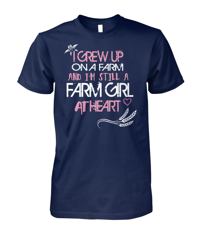I'm still a farm girl at heart - Barnsmile.com-Barnsmile.com-shirt, tees, clothings, accessories, shoes, home decor