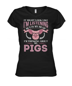 In my head i'm thinking about my pigs