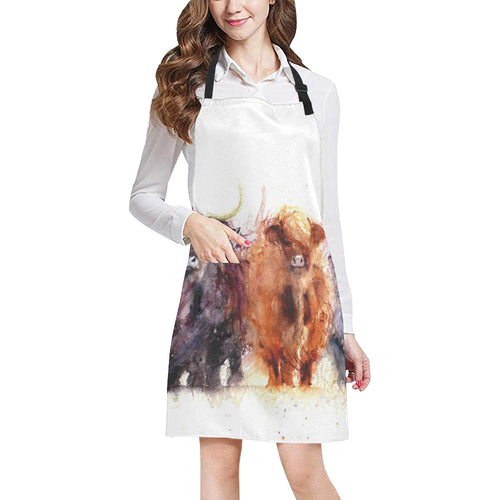 cow All Over Print Apron 31
