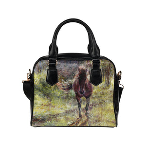 Horse 06 Shoulder Handbag (Model 1634)