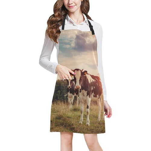 cow All Over Print Apron 07
