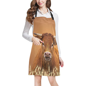 cow All Over Print Apron 24