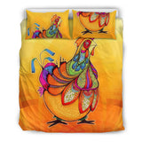 Chicken Lovers - Bedding Set 06