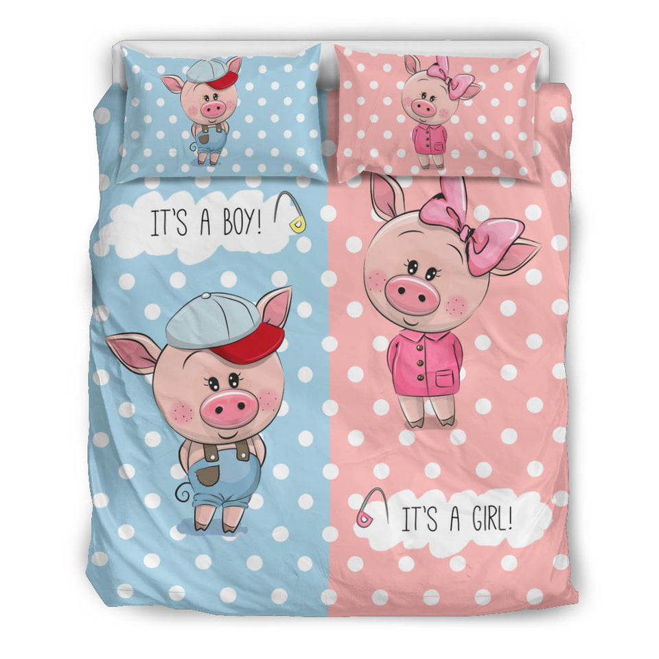 Bedding Set - Pig Lovers 11