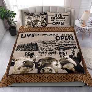 Bedding Set - Cow Lovers 40