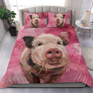 Bedding Set - Pig Lovers 08