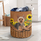 Australian Terrier Laundry Basket Funny Comfort Carry Women 3D Kitchen & Home All Over Print