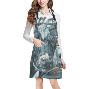 cow All Over Print Apron 20