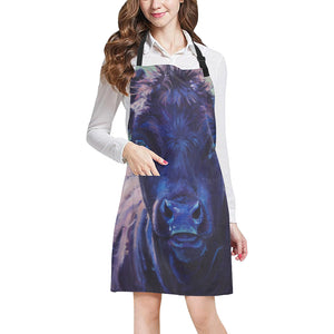 cow All Over Print Apron 33