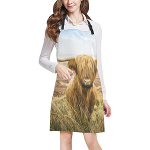 cow All Over Print Apron 16
