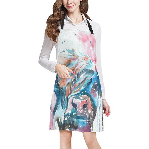 cow All Over Print Apron 18