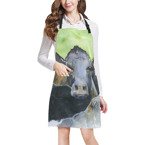 cow All Over Print Apron 34