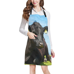 cow All Over Print Apron 15