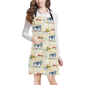 cow All Over Print Apron 27